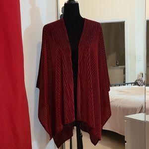Red Velvet Kimono